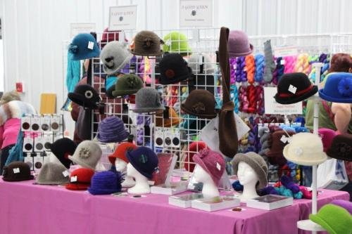 Fiber Arts Festival Mary's Felted Hats