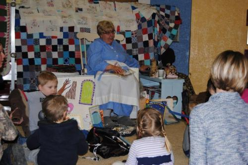 Storytelling with Mother Goose
